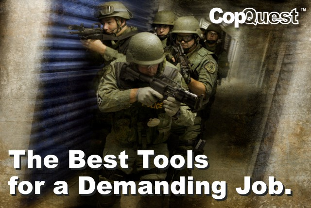 The best tools for a demanding job from CopQuest