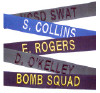 Fabric Uniform Name Tapes