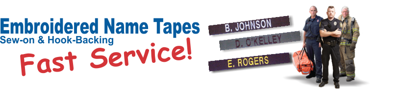 Fast service and low prices on custom made identification tapes