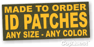 Patches made to your specifications - call 800-728-0974
