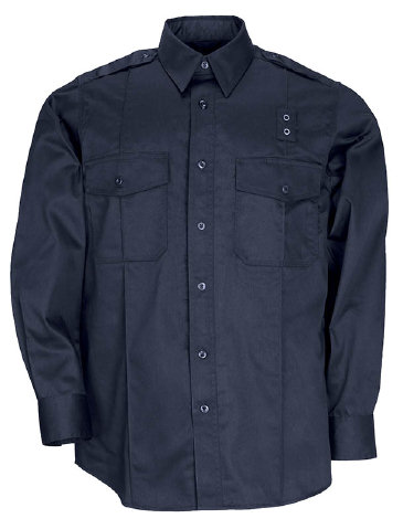 5.11 PDU Class A Poly/Cotton Twill L/S Shirt - Men's
