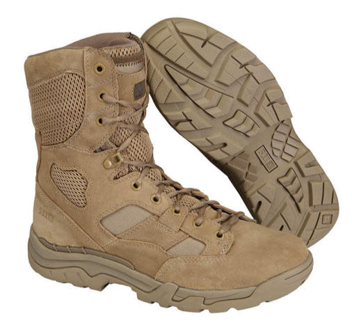 5.11 Taclite 8-inch Coyote Boots