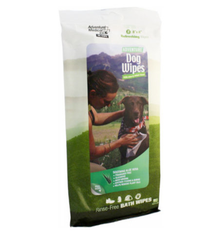 Adventure Medical Kits Adventure Dog Wipes, Package of 8