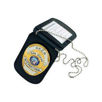 Aker 597 Neck Badge and ID Holder