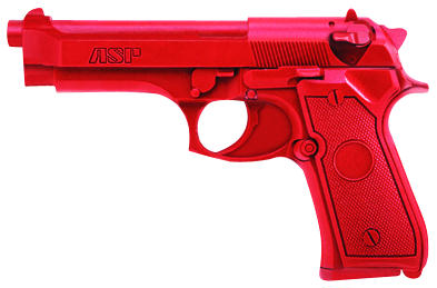 ASP Red Gun Handgun Training Replicas - Beretta 9mm/.40 Full-Size w/o rails