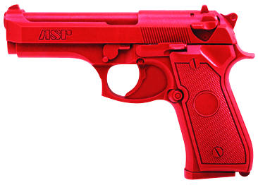ASP Red Gun Handgun Training Replicas - Beretta 9mm/.40 Compact