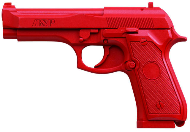 ASP Red Gun Handgun Training Replicas - Beretta 96D