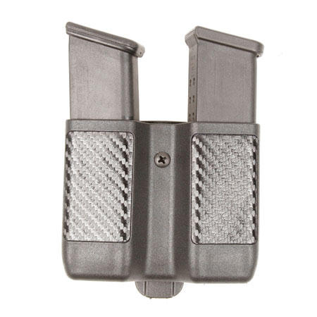 BlackHawk CQC Serpa Double Mag Case - Carbon Fiber Finish