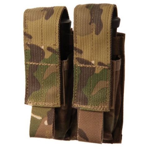 BlackHawk Double Pistol Mag Pouch w/TALON Flex - MultiCam