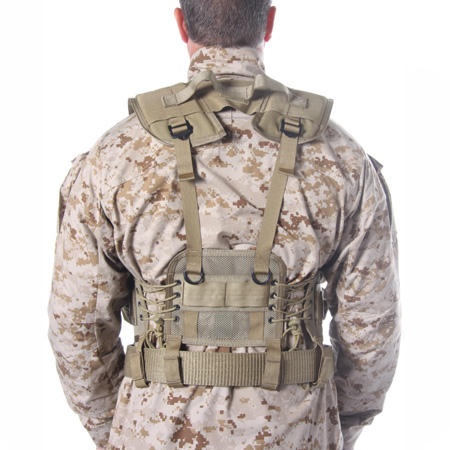 BlackHawk Enhanced Soldier Load Bearing Vest - Coyote Tan