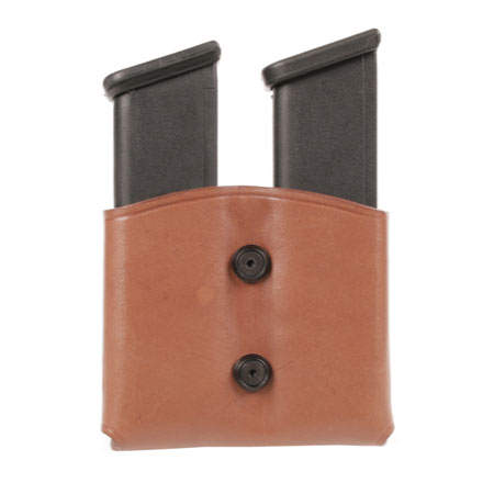 BlackHawk Leather Double Mag Pouch
