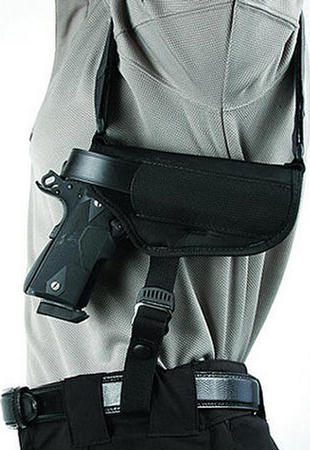 BlackHawk Nylon Horizontal Shoulder Holster