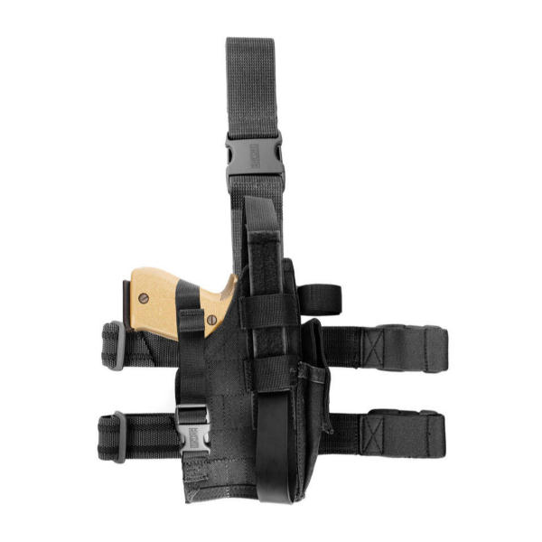 BlackHawk Omega VI Elite Drop Leg Holster - Black