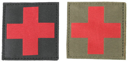 BlackHawk Red Cross ID Patch