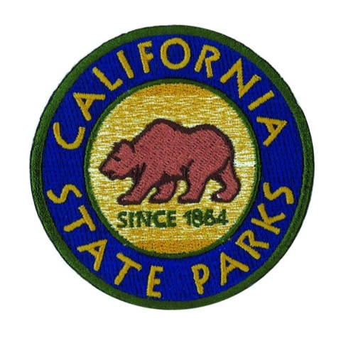 California State Parks Cap/Polo Patch - 3 inch Round