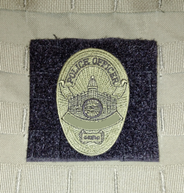 Del Molle Panel for Badges and Insignia - 4x4 inches