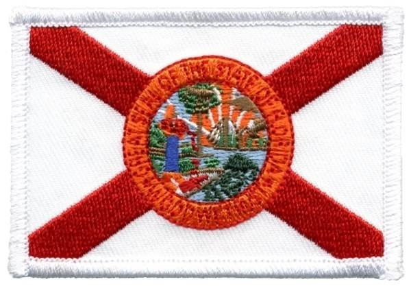 Florida State Flag Patch