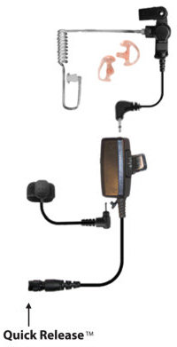 Gecko Modular Surveillance Microphone Kit - Mic Kit without Quick Release Adapter