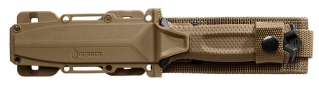 Gerber StrongArm Fixed Blade Knife with Serrated Edge