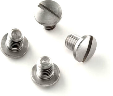 Grip Screws for Govt. & Officers Model - Stainless - Slotted