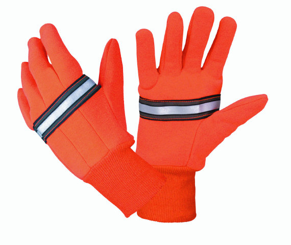 Hatch RTG100 Reflective Traffic Gloves - Orange