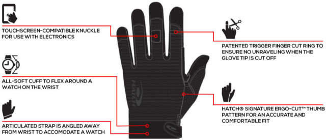 Hatch TSK330C Task Heavy SOGHK LT Glove