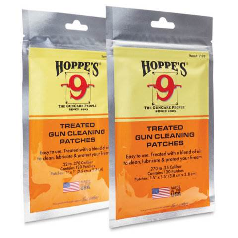 Hoppe's Treated Gun Cleaning Patches