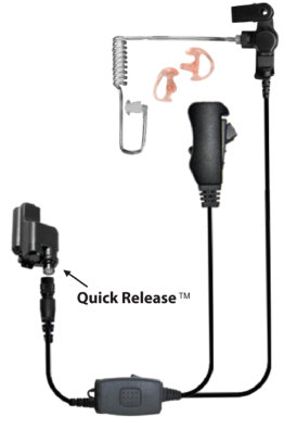 Jaguar Two-Wire Microphone - Quick Release