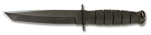 KA-BAR Short Tanto Black Knife