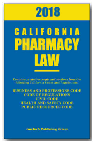LawTech Pharmacy Laws - California Edition