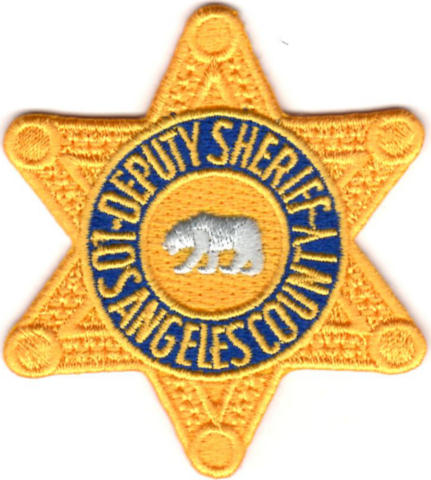 Los Angeles County Sheriff Department - Deputy Sheriff - Star Badge Patch