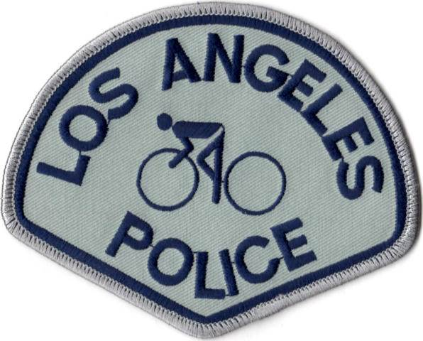 Los Angeles Police Department - Bike Patrol Command Right & Left Shoulder Patch - Pair