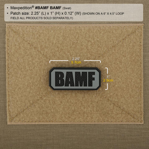 Maxpedition BAMF Morale Patch