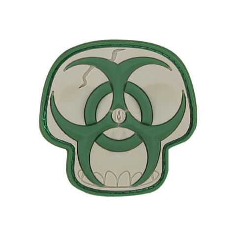 Maxpedition Biohazard Skull Patch