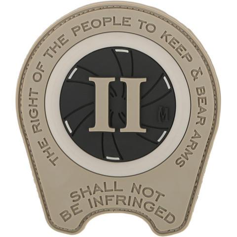 Maxpedition Right to Bear Arms 1911 Barrel Bushing Patch