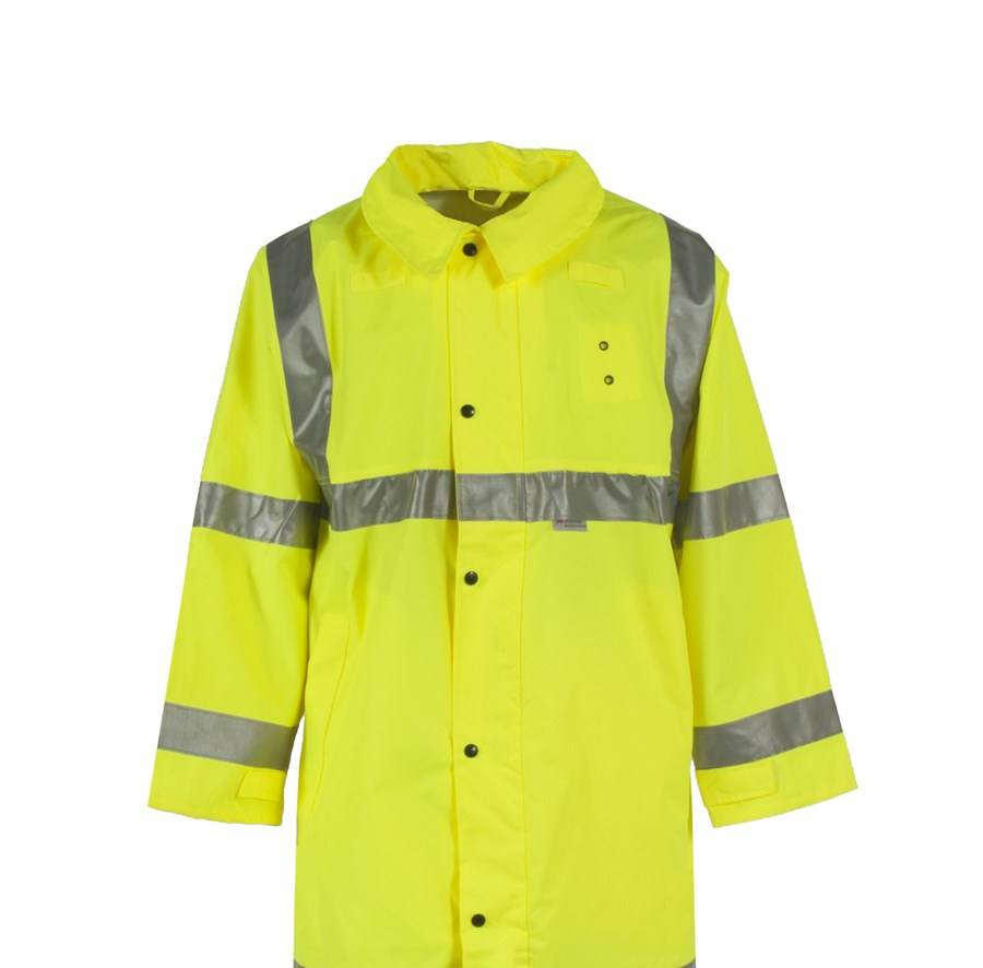 Neese Rainwear Air Tex High Visibility Coat - Hi-Viz Lime - Larger Sizes
