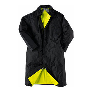 Neese Rainwear Reversible Coat - Black/Lime Larger Sizes