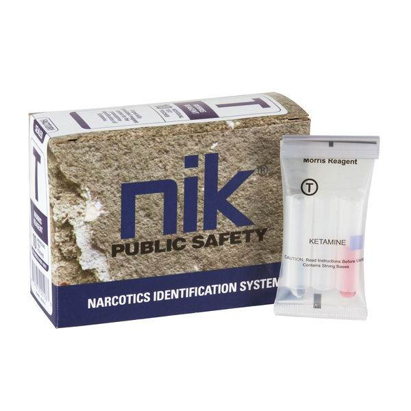NIK Narcotic Test Kits - Test T: Ketamine