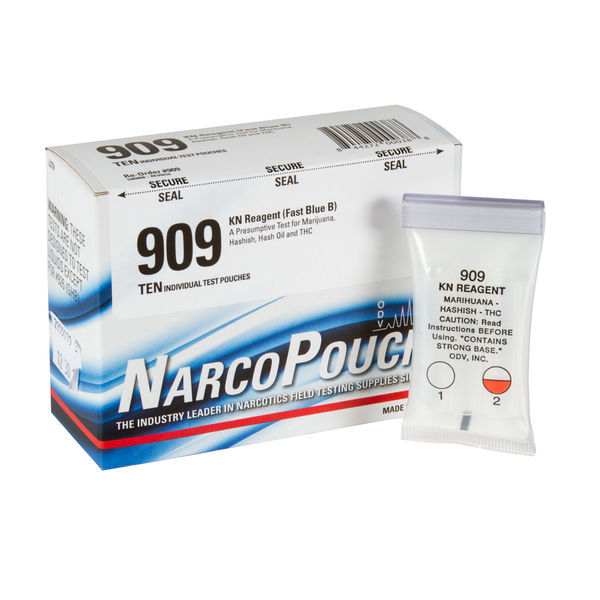 ODV NarcoPouch Individual Test - ODV 909: KN Reagent (Fast Blue B)- (Marijuana, Hashish and Hash Oil