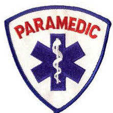 PARAMEDIC Patch - Red