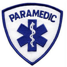PARAMEDIC Patch - Blue