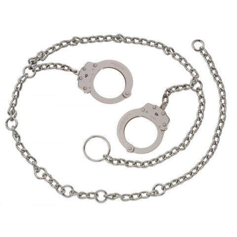 Peerless Waist Chain - Model 7002C-XL - Nickel Finish