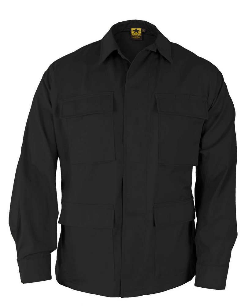 Propper BDU 4-Pocket L/S Coat, Battle Rip 65/35 Poly/Cotton RipStop