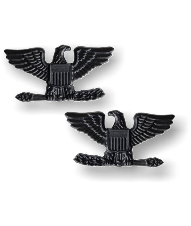 Rank Insignia - Tactical Black - Colonel (Eagle)
