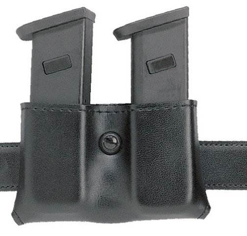 Safariland 079 Concealment Double Magazine Holder, Snap-On for 1.75-inch belt