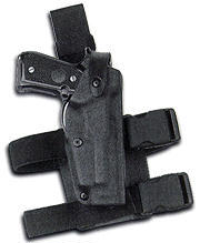 Safariland 6004 Tactical Holster - CHP - Tac Light