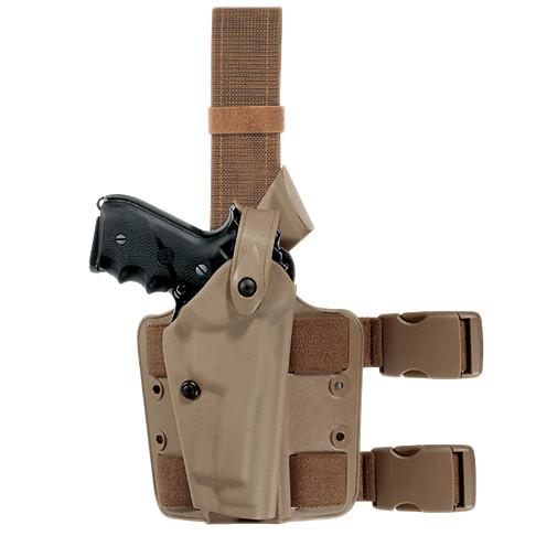 Safariland 6004 Tactical Holster - Double Leg Strap