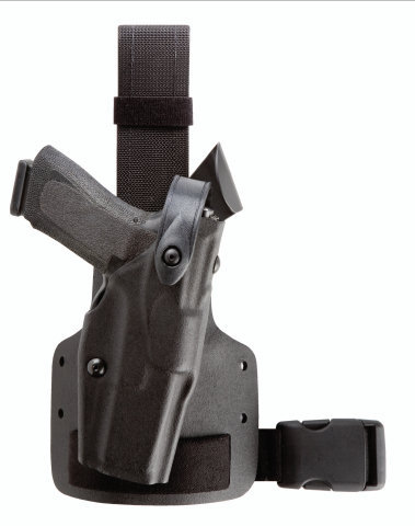 Safariland 6004 Tactical Holster - Single Leg Strap