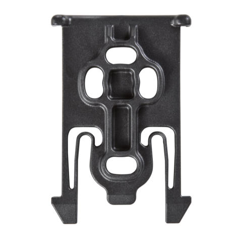 Safariland 6004-UFA Universal Flex Adapter & ELS 34 Locking Fork on Lightweight Leg Shroud