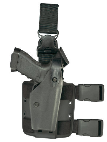 Safariland 6005 Tactical Holster - CHP - Tac Light